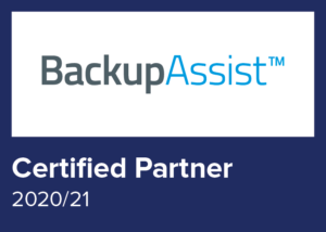 Logo BackupAssist Certified Partner 2020/21