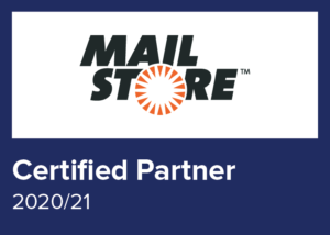 Logo MAIL STORE Certified Partner 2020/21