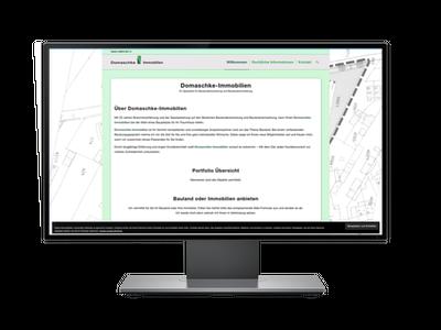 Website Domaschke-Immobilien